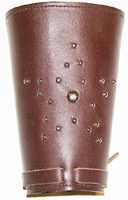 Spot Star Leather Western Cowboy Cuffs